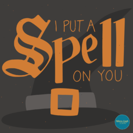 I put a spell on you.